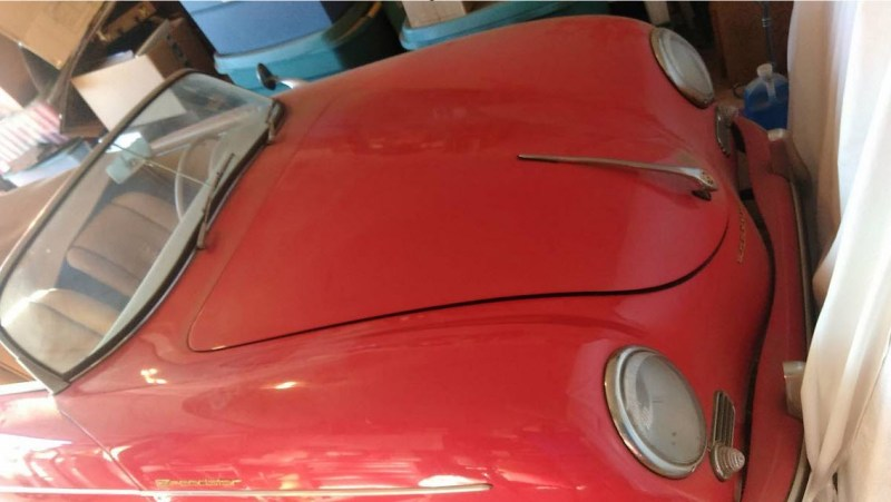 dirtyoldcars.com   1956 Porsche Speedster Found in Florida    4