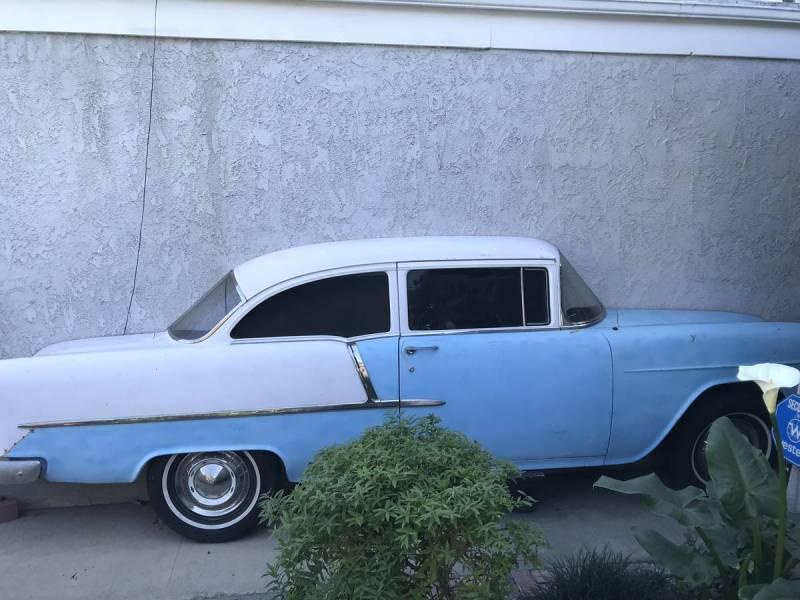 dirtyoldcars.com  1955 Chevy Wall Art Costa Mesa  California  2