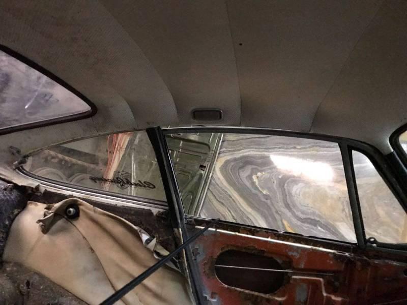 dirtyoldcars.com   1966 Porsche 911 shell sacramento   1