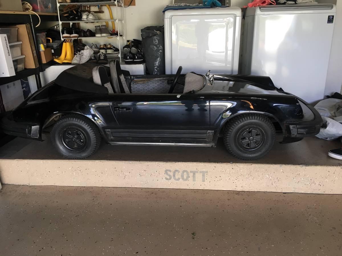 dirtyoldcars.com Porsche Junior go cart los angeles 5