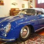 dirtyoldcars.com 1955 Porsche Pre-A Speedster Blue new york city 1