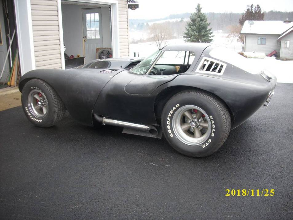 dirtyoldcars.com cheetah kit car corvette chassis New York 3