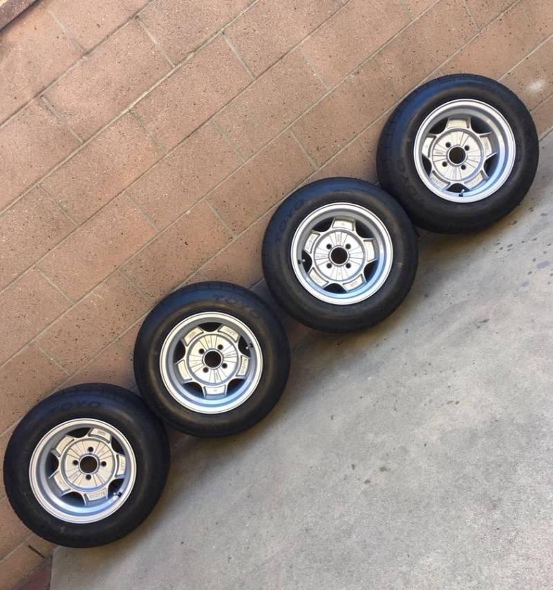 "dirtyoldcars.com  1968 1970 1974 BMW 2002 2002tii 13"" ATS rims  13 x 8 los angeles  5"