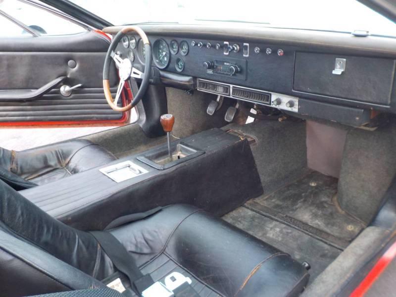 dirtyoldcars.com  1970 detomaso mangusta  new york 249k    6
