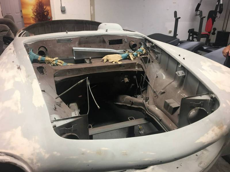dirtyoldcars.com   Mercedes 1955 190 SL  Project Florida  9
