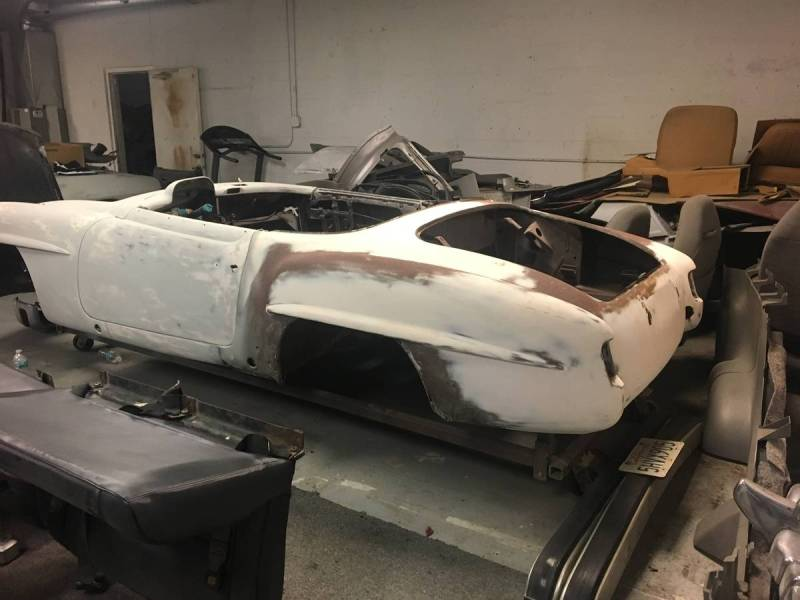 dirtyoldcars.com   Mercedes 1955 190 SL  Project Florida  8