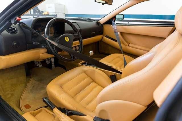 dirtyoldcars.com   1995 ferrari 512M black  tan  39k miles   3