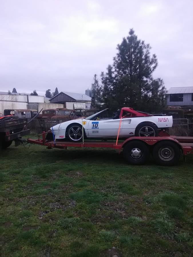 dirtyoldcars.com   ferrari 308  1983 race car project  portland  1
