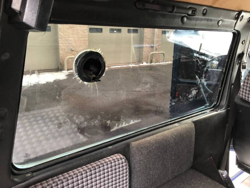Mercedes 1984 280GE boston  bulletproof  50k   16