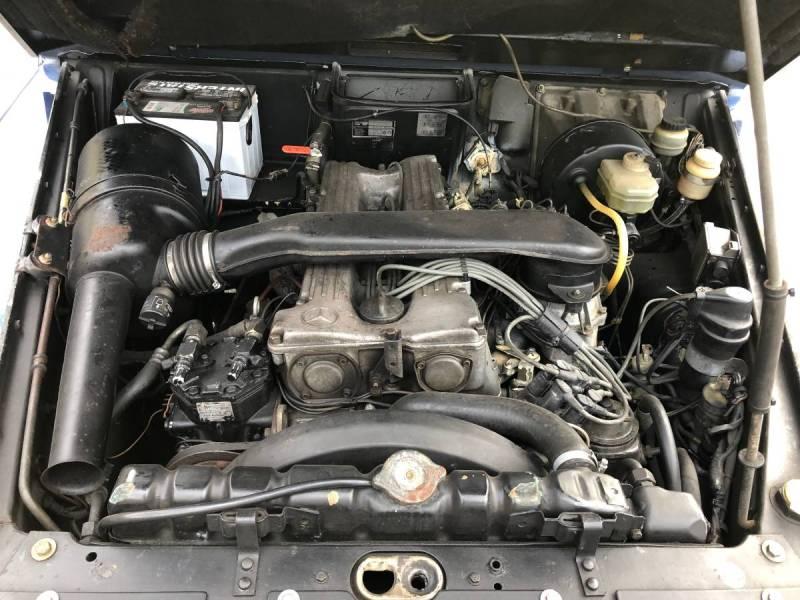 Mercedes 1984 280GE boston  bulletproof  50k   8