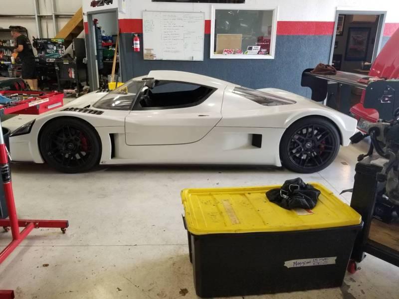 dirtyoldcars.com   Corvette Race Car Replica Superlite coupe  Seattle  74k   8
