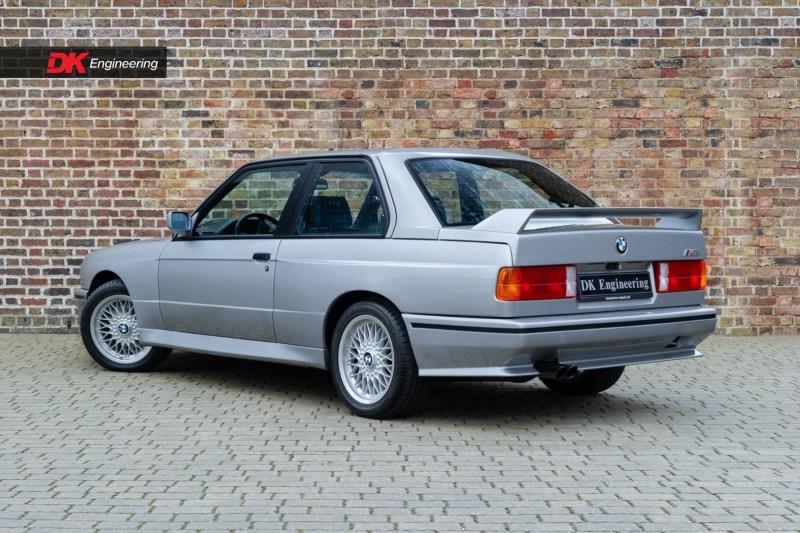 dirtyoldcars.com  Factory Restored 1987 BMW E30 M3   2