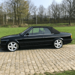 dirtyoldcars.com 1991 AC Schnitzer BMW E30 320I convertible Germany 1