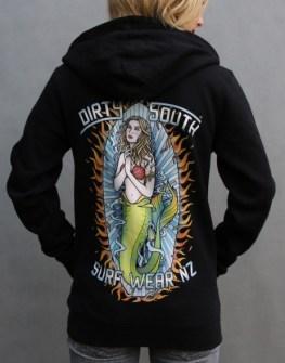 Women's Hood - Mermaid