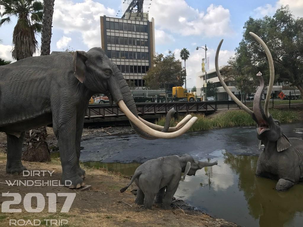 Elephant Stuck in the Tar, La Brea, Los Angeles