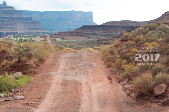 On the Trail to Moab