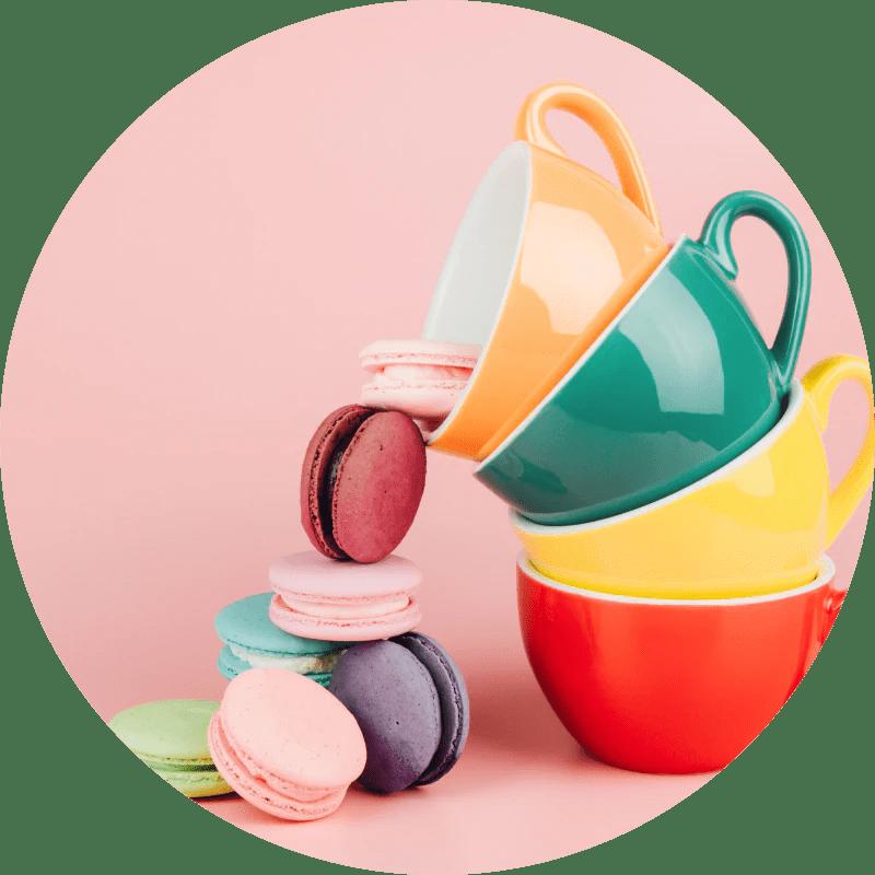 Macarons and Teacups