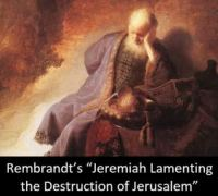 Rembrandt - Jeremiah