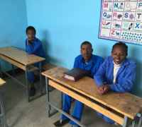 Students in Ethiopia