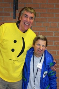 Herb Goodhoofd and his friend, Steven Reese