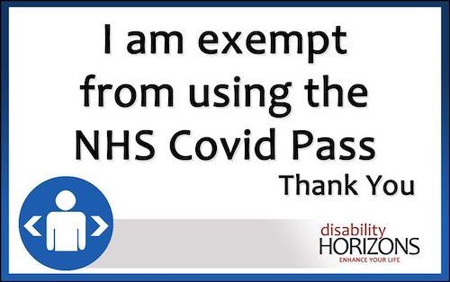 Vaccine Exemption card