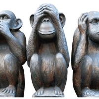 The Three Monkeys of Deceiving Yourself