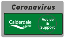 Calderdale council's coronavirus support