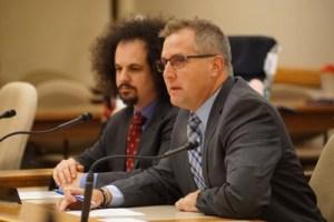 Reps Brostoff and Zimmerman at AB168 hearing
