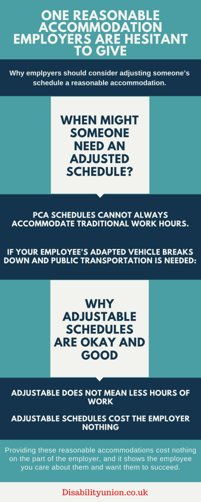 One Reasonable Accommodation Employers are Hesitant to Give
