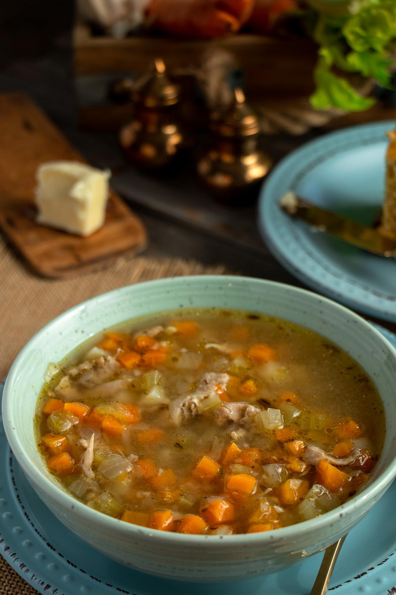 Chicken Soup 1×1 website