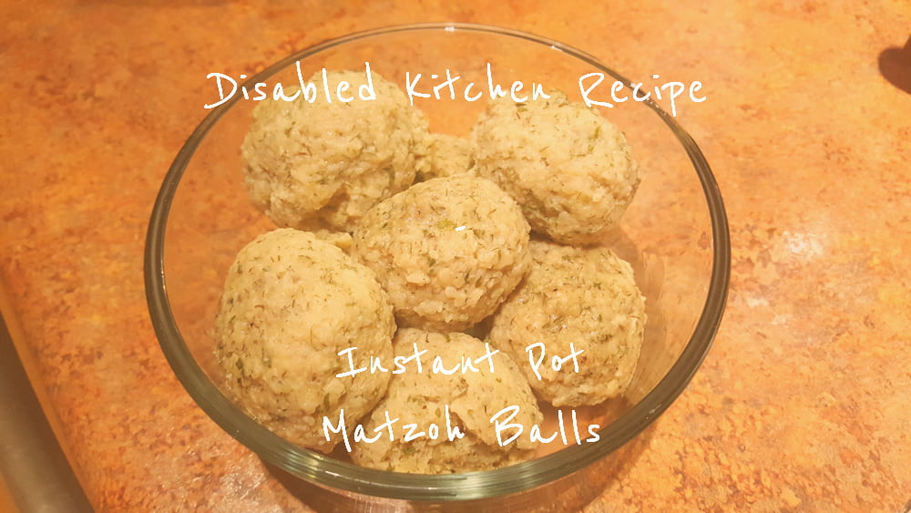 Instant Pot Matzoh Balls title card