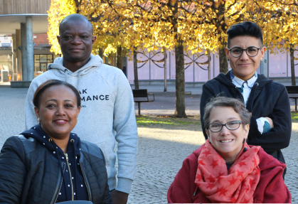 Disabled Refugees Welcome project team