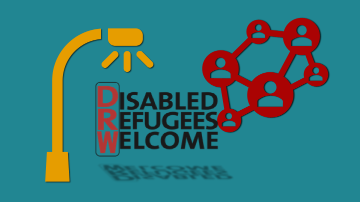 (Svenska) Mediebevakning om projektet Disabled Refugees Welcome