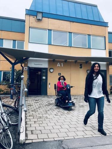 SFI kursen i Rinkeby för personer med synskada