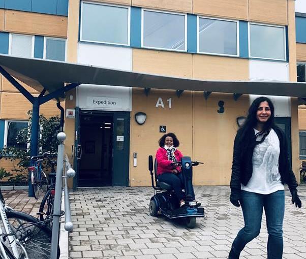 SFI i Rinkeby för Människor med synskada