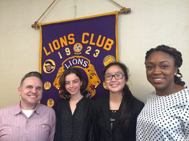 tony and crista at lions club
