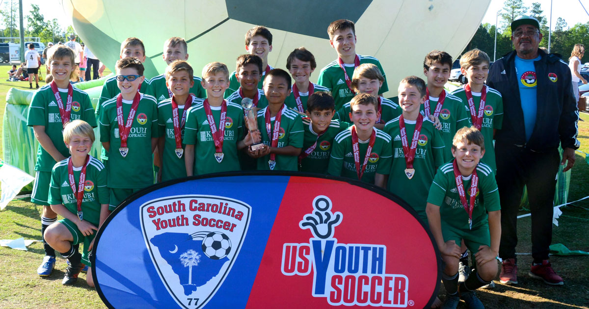 2018 State Cup Champions!
