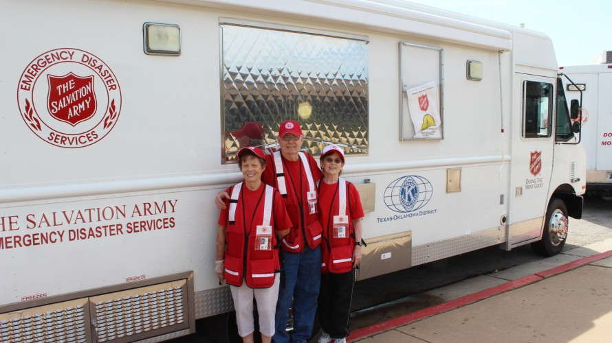 The Salvation Army and Kiwanis International Team Up to Serve Tornado Victims