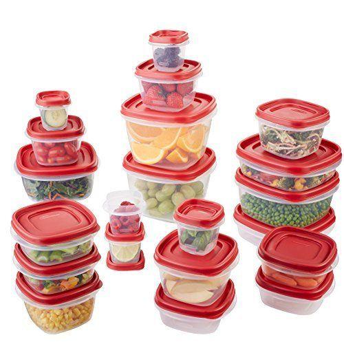 Rubbermaid 42-Piece Easy Find Lid Food Storage Set - New Item 1