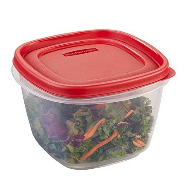 Rubbermaid Easy Find Lid Food Storage Container- BPA-Free Plastic- 7 Cup NEW 1