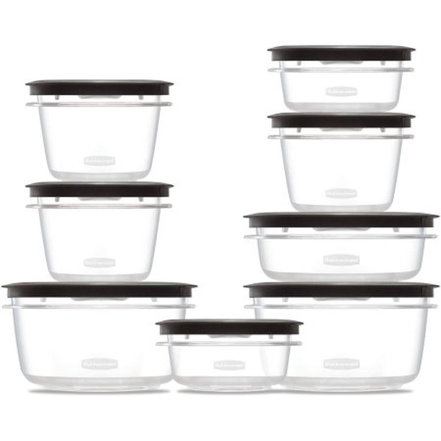 Rubbermaid Premier Food Storage Containers 16-Piece Set New Free Shipping 1