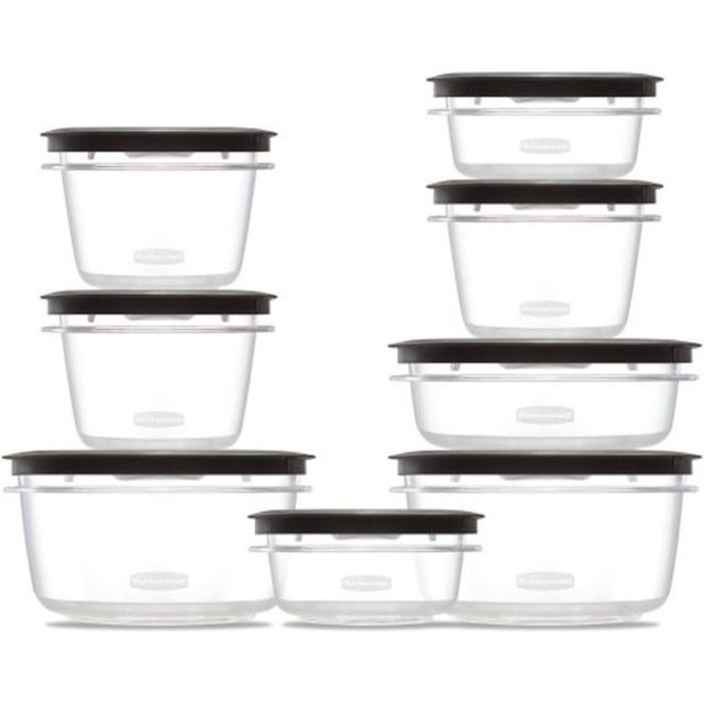Rubbermaid Premier Food Storage Containers 16-Piece Set New Free Shipping 6