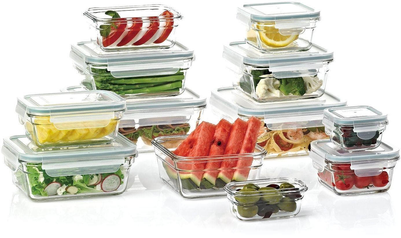 Members Mark 24-Piece Glass Food Storage Set By Glasslock Free Shipping! 1