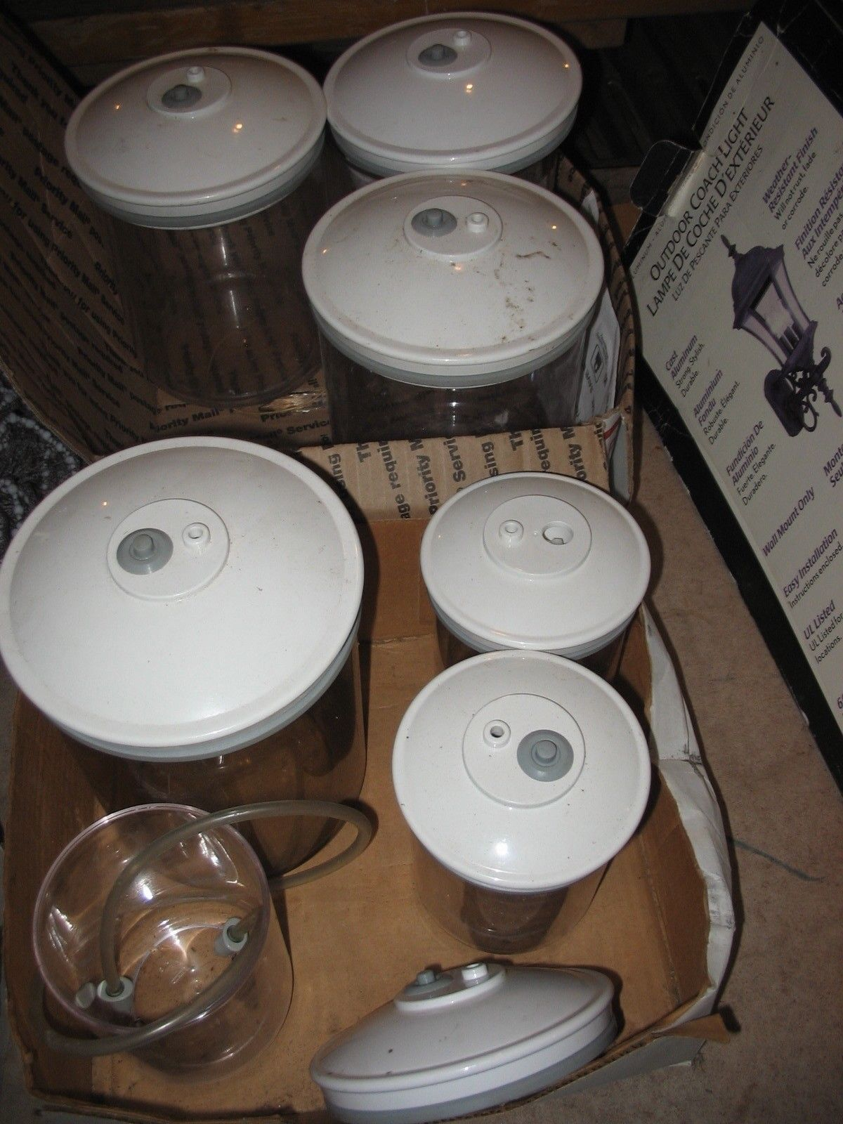 SEAL FOOD SAVER FOOD STORAGE CONTAINERS 1