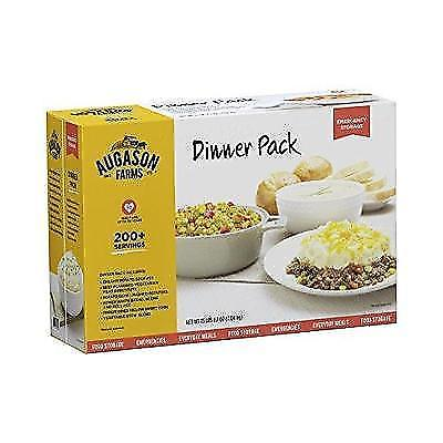 Augason Farms Dinner Pack Emergency Food Storage Kit New 1