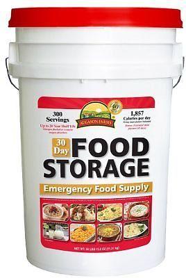 Augason Farms 30-Day Food Storage Emergency Pail 1