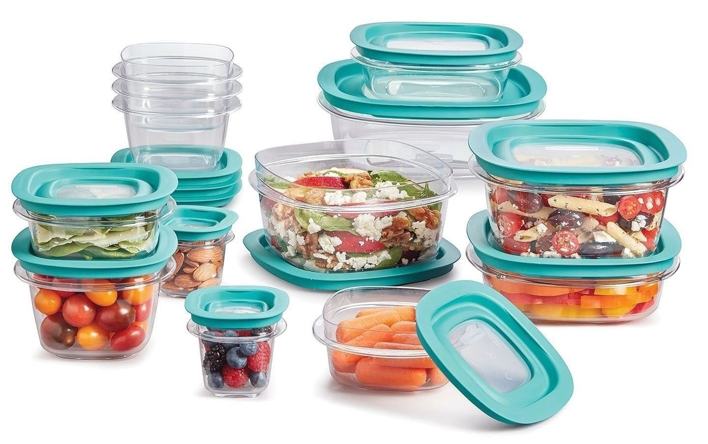 Rubbermaid 26-Piece Food Storage Set Flex & Seal Containers - Free Shipping 1