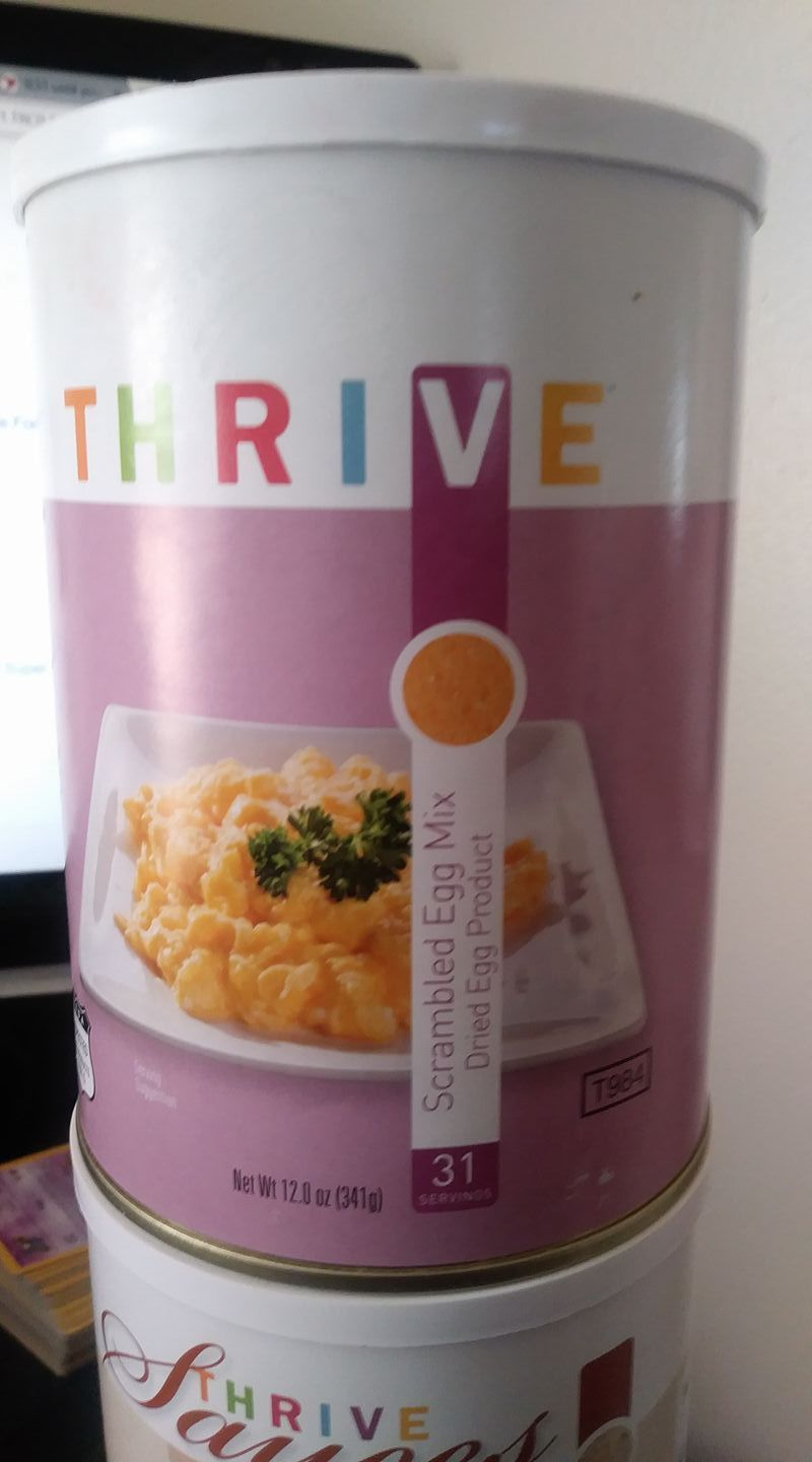 THRIVE Emergency Food  Storage  31+32+7 Servings, Free shipping 1