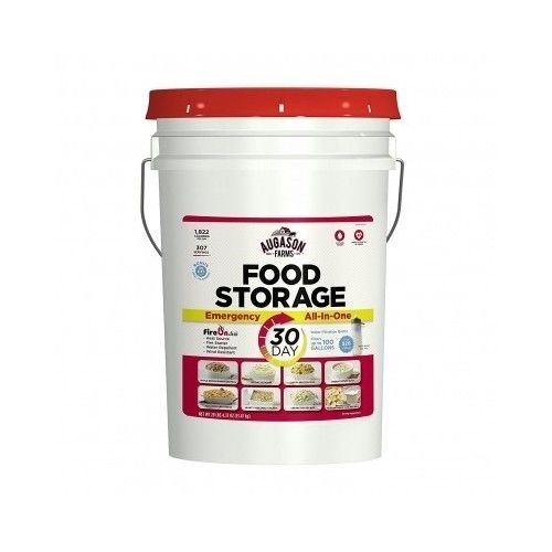 Augason Farm Food Pail 30 day emergency survival storage supply all variety meal 1