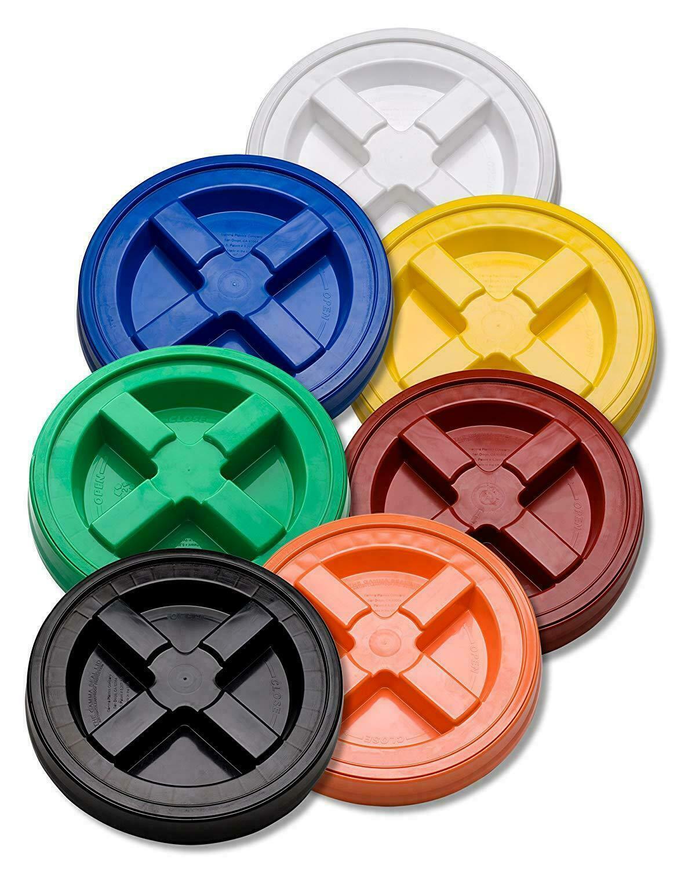 Gamma Seal Lid Screw On Bucket Gallon Water Plastic Airtight Food Storage Pail 1